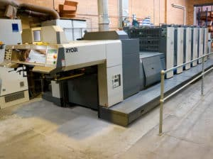 Ryobi Offset Printer PMS Litho