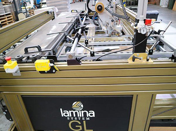 Lamina 2200mm Gluer with Workstation